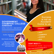 Admission Open for UG